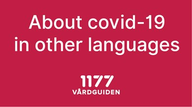 About covid-19 in other languages